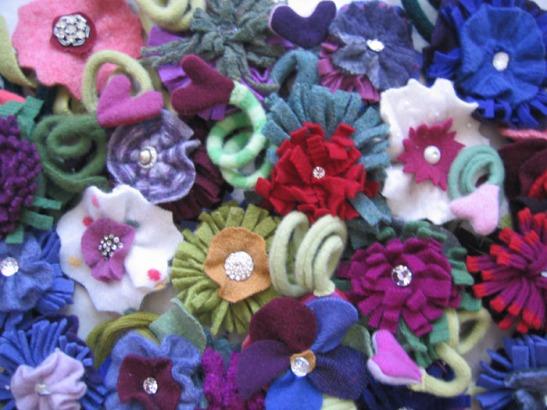 Flower Pins (2)